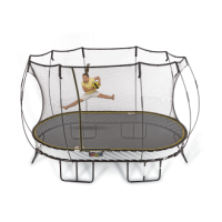 Large Oval Trampoline O92